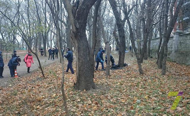 Впарке Шевченко обнаружили обугленные останки человека
