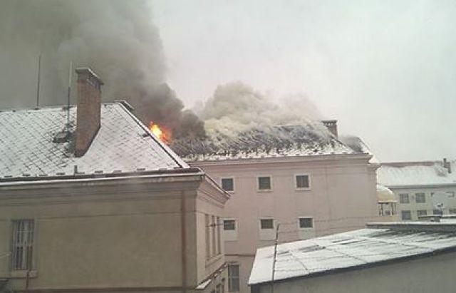 ВУжгороде произошел пожар вСИЗО