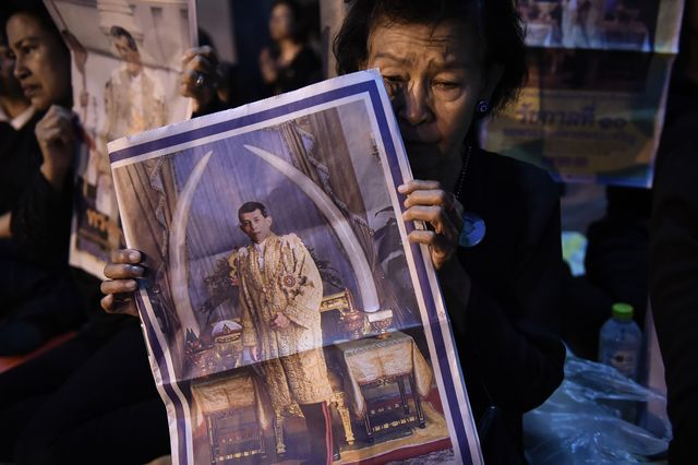 Милиция арестовала студента заоскорбление нового короля Таиланда