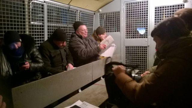 В российской столице зачтение пародии наКонституцию задержаны 15 человек