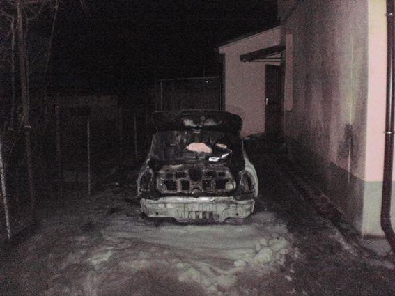 ВУжгороде сожгли авто руководителя одного издепартаментов горсовета