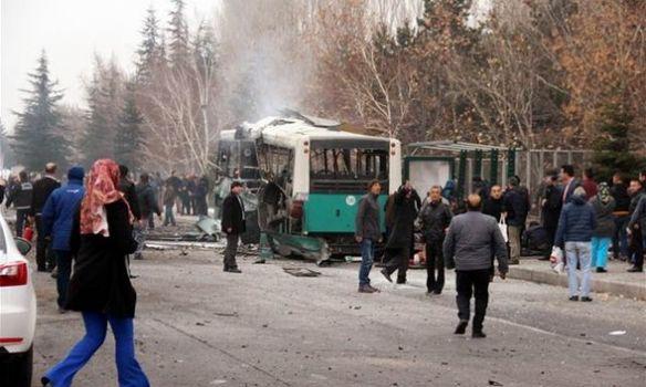 Втурецком Кайсери совершен теракт против военных. Погибли 13 человек