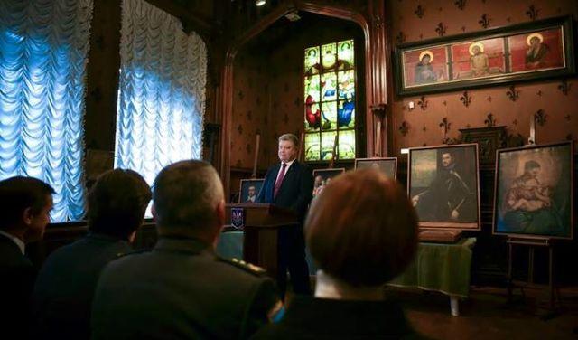 Сегодня Украина передаст итальянскому музею похищенные картины