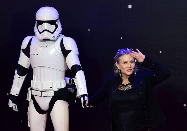 Стало известно осостоянии артистки из«Звездных войн»— Инфаркт принцессы Леи