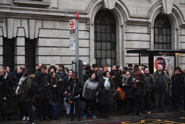 Рабочие английского метро 8 и9января проведут забастовку