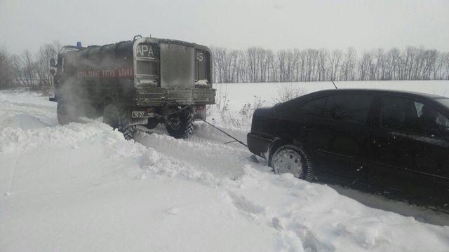 Непогода вОдесской области: накаких трассах открыли движение