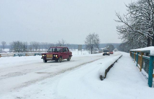 Милиция предупреждает окритическом уровне аварийности взападных областях— Непогода вгосударстве Украина