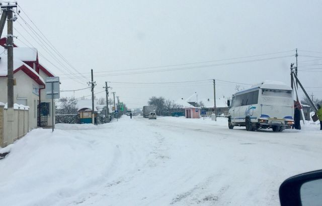 На трассах травмировались 75 человек— Снегопад вгосударстве Украина
