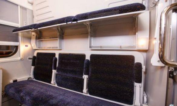 Сегодня в 1-ый рейс выйдет поезд свагонами-трансформерами Крюковского вагонзавода