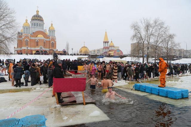 В киеве на крещение фото