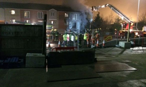 В итоге взрыва вжилом доме навостоке Лондона пострадали три человека