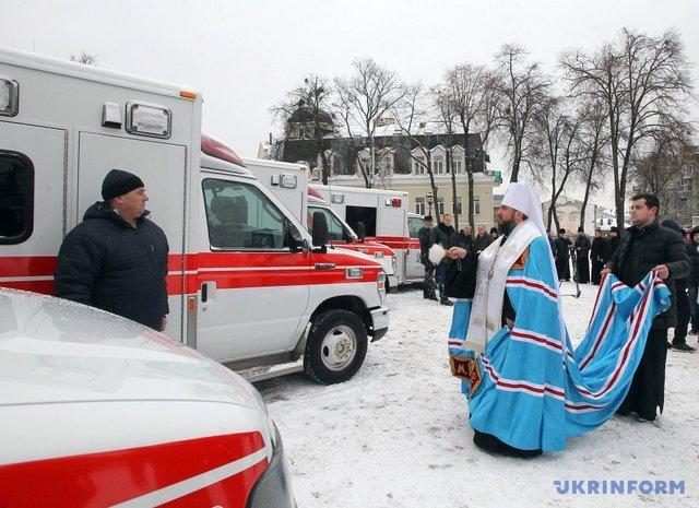 Посол Канады сообщил в государство Украину 10 «скорых»