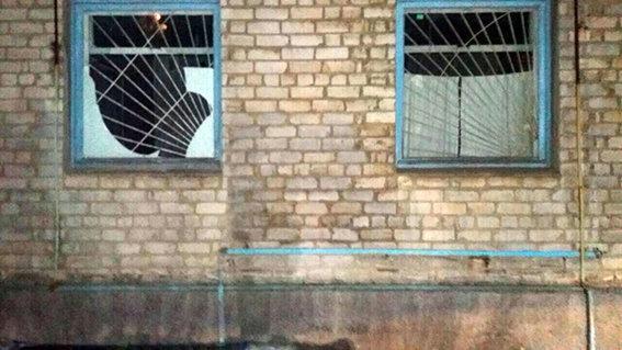 Взрыв вовремя факельного шествия вСлавянске: вбольнице выбило окна