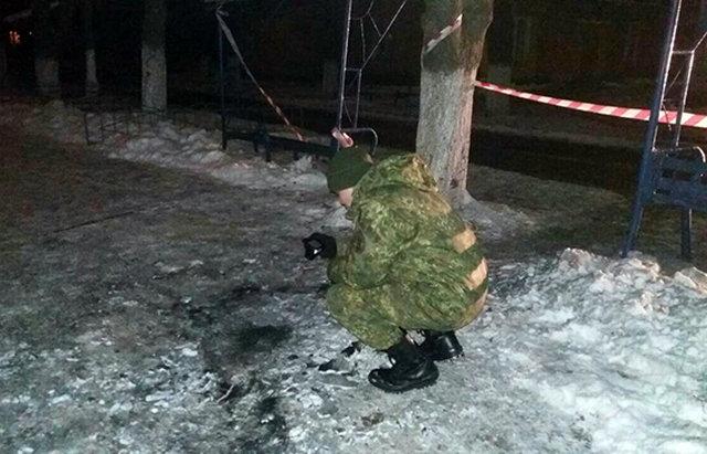 Впроцессе факельного шествия навостоке государства Украины произошёл взрыв