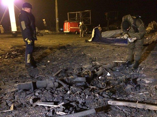 Ночью в Донецке прогремел взрыв