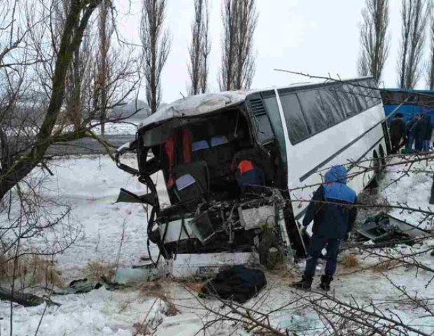 ВВинницкой области случилось масштабное смертельное ДТП