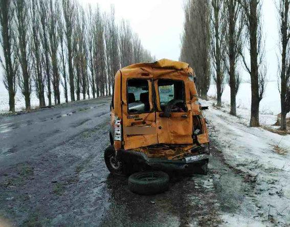 Два молдавских автобуса столкнулись вгосударстве Украина. умер житель Молдовы