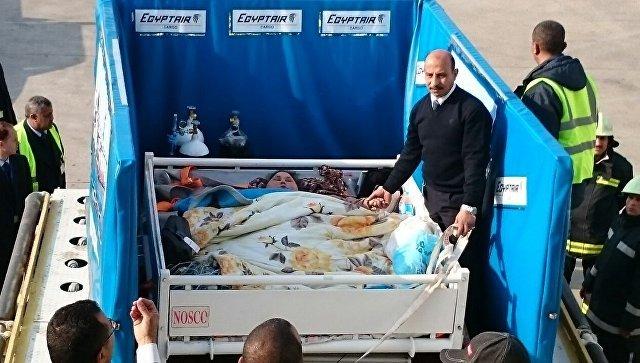ВЕгипте женщину весом 500кг отправили налечение грузовым бортом