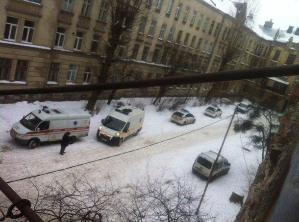ВоЛьвове около вокзала произошел взрыв