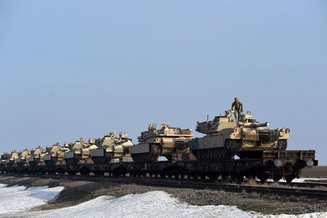 Подразделение американских войск прибыло вРумынию