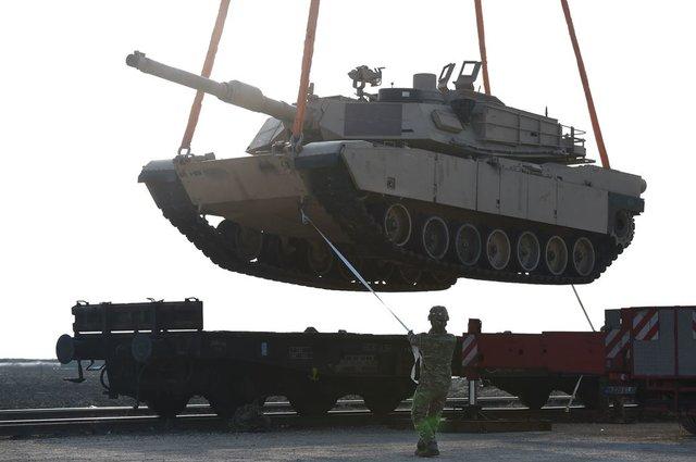 ВРумынию прибыло 500 военнослужащих США
