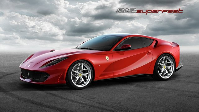 Феррари поведал о новом 800-сильном купе 812 Superfast‍