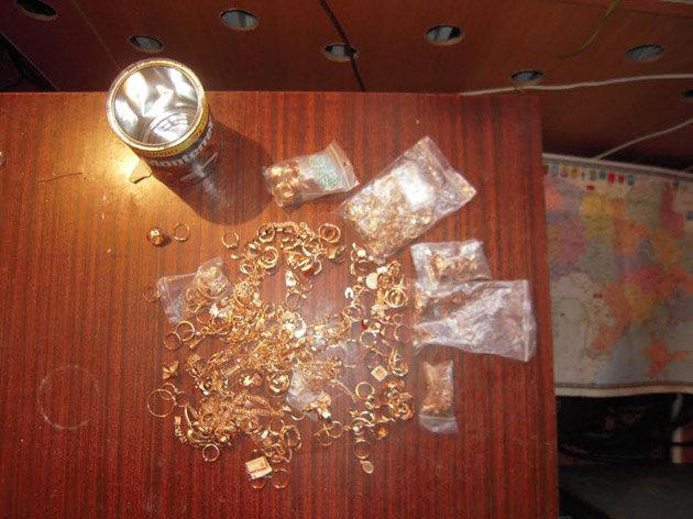 ВОдесской области таможенники обнаружили контрабандное золото