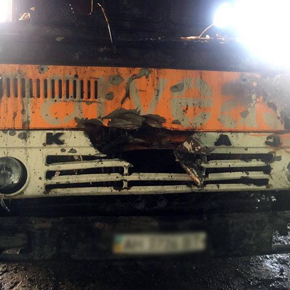 Боевики обстреляли агрохолдинг «HARVEAST» вТалаковке