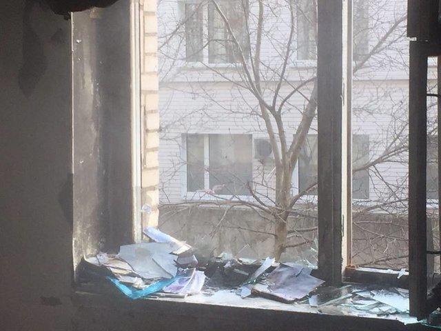 Пожар впрачечной студенческого общежития вМинске: эвакуировали 200 человек