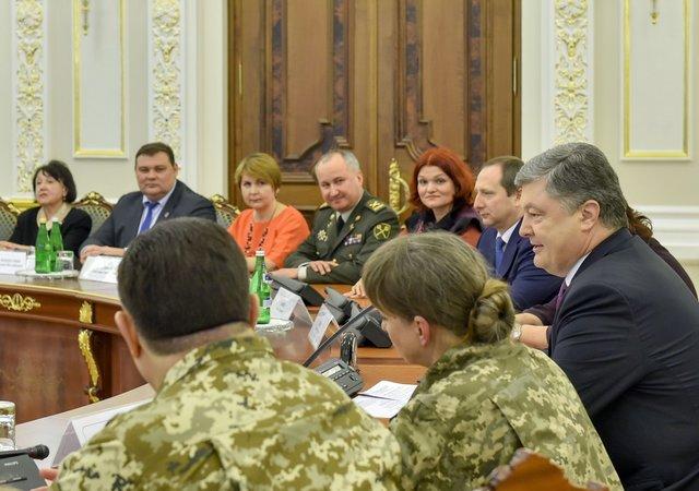 Глава государства пожелал украинским женщинам мира и слабости