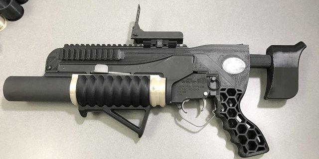 Армия США показала гранатомет, напечатанный на3D-принтере