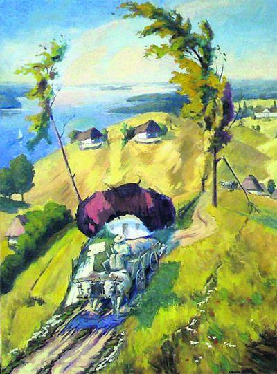тарас шевченко картины: