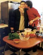 Сосо Павлиашвили с сыном Леваном