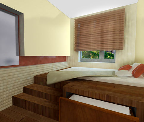 комнате подиум для кровати. в комнате подиум для кровати и.