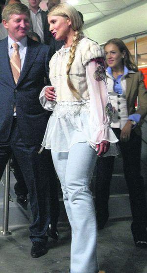 Юлия тимошенко в сексуальном наряде