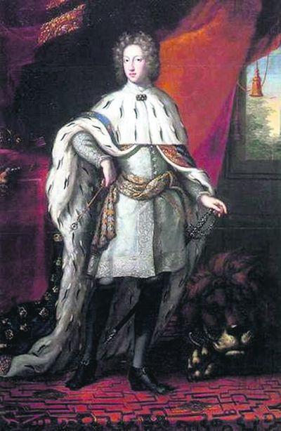 Карл XII в 1697 р. Таким його побачив художник Еренстраль