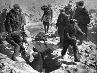 Партизаны. Вплоть до освобождения осколки одесского подполья скрывались в катакомбах