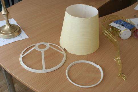 Как сделать настольную лампу  в домашних условиях 189