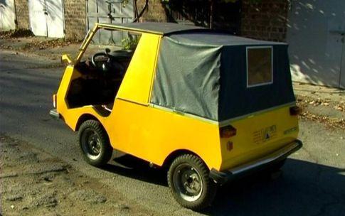 Самодельные мини автомобили видео