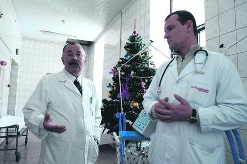 Химкинская городская поликлиника на левобережной