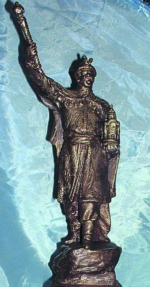 Проект полтавского памятника Ивану Мазепе