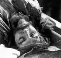 Расстреляный Эрнесто Че Гевара. Фото из личного архива Гари Прадо