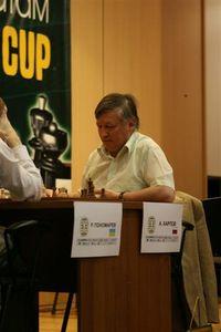 Мастер. В борьбе с молодым асом Карпов сыграет вничью, фото А. Лесик