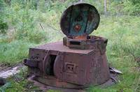 Редкий снимок. Так выглядит сегодня танкобашенный дот времен Великой Отечественной войны (Белоруссия)