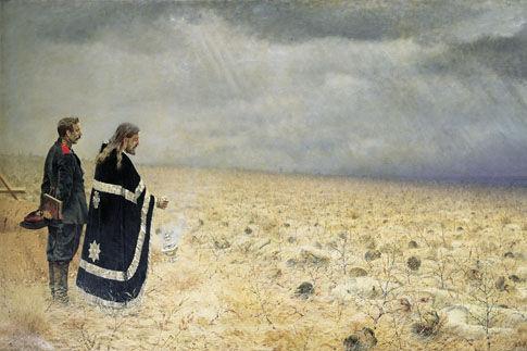 """""""Побежденные"""" эта картина Верещагина один к одному перенесена в """"Турецкий гамбит"""""""