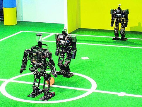 Фото RoboCup Humanoid League