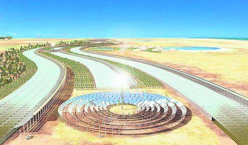 Солнечные батареи из песка