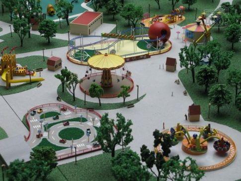 Сделать парк своими руками