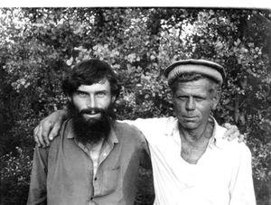 Июль 1992.  Геннадию Цвеме разрешили встретится с отцом