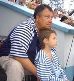 Сергей Степанченко с сыном Юрием